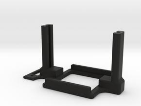 Mamba Monster X Mount in Black Premium Versatile Plastic