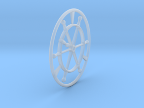 Steering Wheel, Elco Style, multi-scale in Smooth Fine Detail Plastic: 1:20