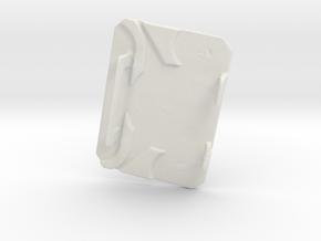 Rollease Clutch Cover A1 in White Premium Versatile Plastic