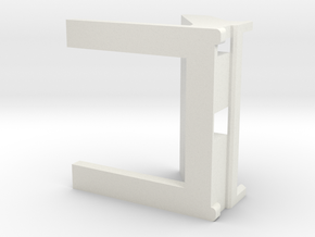 Phone Stand 1.0 in White Natural Versatile Plastic