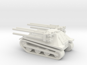 1/56 M50 Ontos in White Natural Versatile Plastic