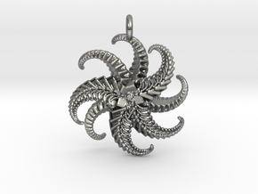 IF Starfish in Natural Silver