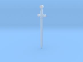 Rider-Waite Sword Pendant in Smooth Fine Detail Plastic