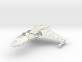 Klingon D5 V Cruiser in White Natural Versatile Plastic
