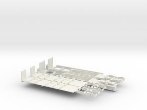 Fahrgestell Rheinbahn 4200 Alu B-Wagen in White Natural Versatile Plastic