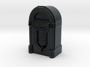HO/OO Scale JukeBox in Black Hi-Def Acrylate