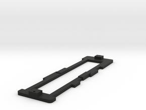HO Scale CNSM 455 - 456 Battery Loco Frame in Black Natural Versatile Plastic