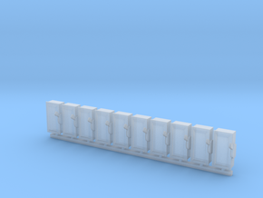 1/64 Electrical 60A Disconnect Boxes in Smooth Fine Detail Plastic