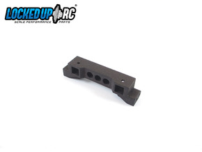TRX4 Bumper Mount ZeroH 7.0V *Metal unit available in Black Natural Versatile Plastic