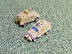 International MaxxPro MRAP Vehicle 1/160 N-Scale in Smooth Fine Detail Plastic