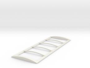 22' Roll Over Tarp Frame in White Premium Strong & Flexible