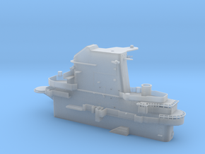 USS Lexington CVT-16 1993 Island (for Revell) in Smooth Fine Detail Plastic