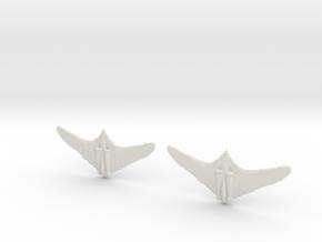 1:600 Horten 229  (Pack of 2) in White Natural Versatile Plastic