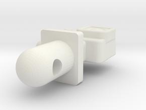 Action Camera 1/10scale in White Natural Versatile Plastic