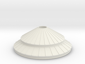 Roof (test acc) in White Natural Versatile Plastic