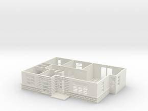 Maison House (Test Acc) in White Natural Versatile Plastic