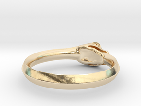 Ouroboros Ring in 14K Gold: 8.5 / 58