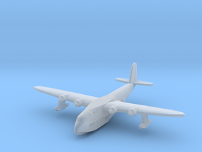 Short Empire Flying Boat 1/900 scale in Smooth Fine Detail Plastic
