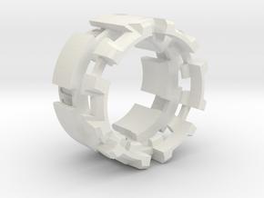 CCH_v1 7/8 inch in White Natural Versatile Plastic