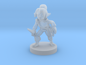 Gnome  Female  Rogue in Smooth Fine Detail Plastic