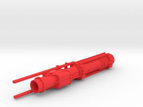 1-50 Dieselhammer D62 + guids for Swinging lead in Red Processed Versatile Plastic