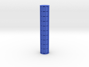 Cylindrical Coin Set - Ratio 1 : sqrt3 in Blue Strong & Flexible Polished