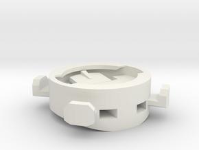Garmin - Bryton - iGPSport Mount on Stem in White Natural Versatile Plastic