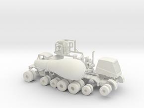 1/87 OshKosh Cement Mixer in White Natural Versatile Plastic