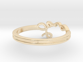 Love Ring in 14K Yellow Gold: 11 / 64