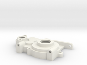 Team C 3/4 Gear Laydown LH Case in White Natural Versatile Plastic