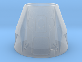 SpaceX Dragon 2 Themed Pop/Soda Holder in Smooth Fine Detail Plastic