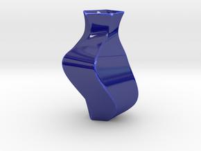 Deluxe Vase in Gloss Cobalt Blue Porcelain