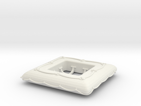 1/24 DKM Life Raft Single in White Natural Versatile Plastic