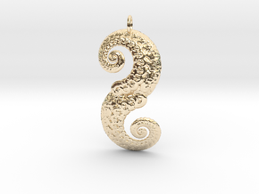 Double Spiral in 14K Yellow Gold