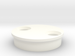 SCOPE WHEEL TOP in White Processed Versatile Plastic