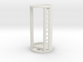 Custom 0.865OD Speaker Holder in White Natural Versatile Plastic