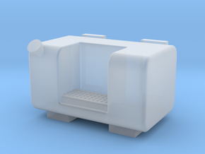 45 Gallon square fuel tank in Smooth Fine Detail Plastic