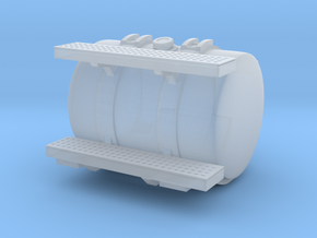 45 gallon round diesel fuel tank for trucks in Smooth Fine Detail Plastic
