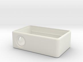 MM Mech Squonk Box (18650) in White Premium Versatile Plastic