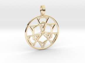 HOLY SYMMETRY in 14K Yellow Gold