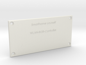 WLAN RGB Controller Deckel in White Natural Versatile Plastic