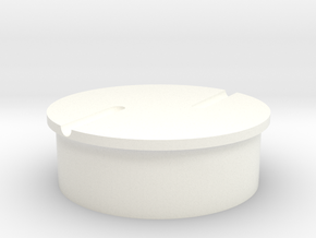 SCOPE WHEEL TOP (8 of 8) in White Processed Versatile Plastic