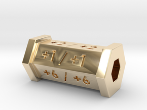 +1/+1 Counter in 14K Yellow Gold