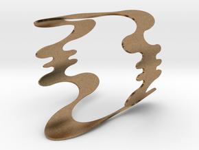 Medusa Cuff  in Natural Brass