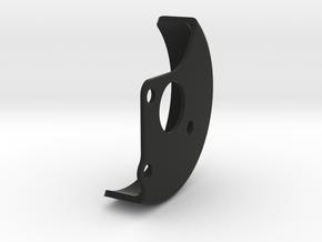 B6 Laydown Motor Guard for kit motor plate in Black Natural Versatile Plastic