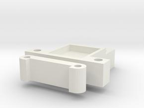 Proline 12mm Trans Sparcer Standard in White Strong & Flexible