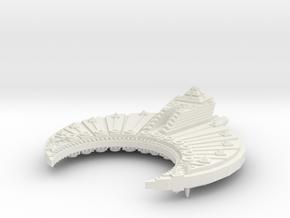 Nave Sepulcro clase Piramide A old version in White Natural Versatile Plastic