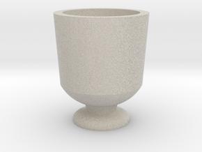Shot glass Planter5 in Natural Sandstone