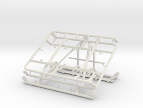 Chain Harrow 1/32 - 3 Point Frame in White Natural Versatile Plastic