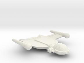 3788 Scale Romulan Condor+ Dreadnought MGL in White Natural Versatile Plastic